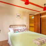 Main bedroom of Gitsa Havansa at Finca Malinche, Nicaragua