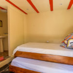 Second bedroom of Gitsa Havansa at Finca Malinche, Nicaragua