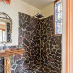 Bathroom of Mark's studio at Finca Malinche, Nicaragua