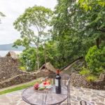 Terrace of Gitsa Havansa at Finca Malinche, Nicaragua
