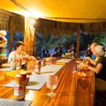 Finca Malinche full moon party, Laguna de Apoyo, Nicaragua