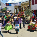 A parade in Masaya, Nicaragua