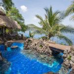 The pool at Finca Malinche, Laguna de Apoyo, Nicaragua