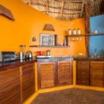 Poolside Rancho kitchen, Finca Malinche, Laguna de Apoyo, Nicaragua